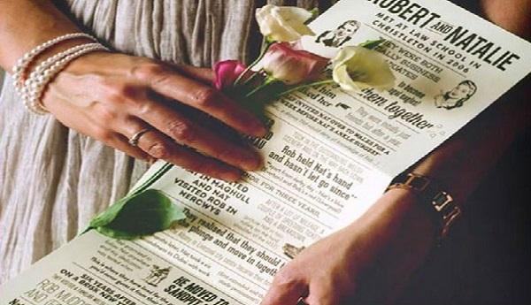 کارت عروسی -تشریفات ملل
