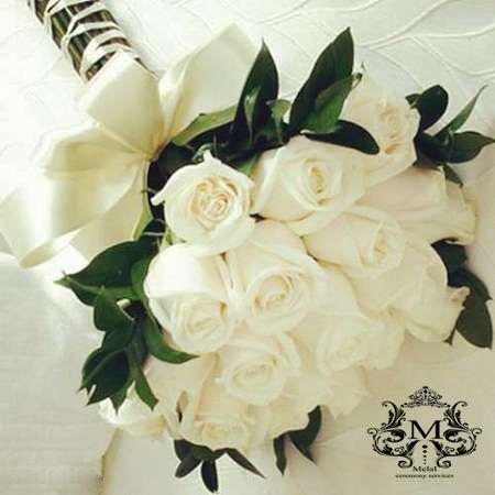 دسته گل عروس ملل