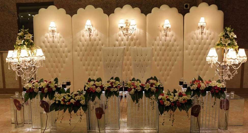 جایگاه عروس و داماد خدمات مجالس ملل