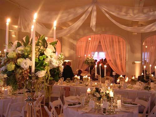 پذیرایی مراسم شام عروسی ملل
