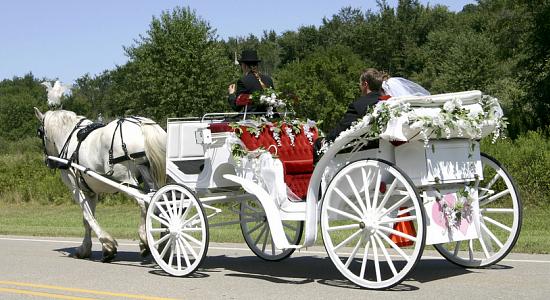 کالسکه عروس-تشریفات ملل