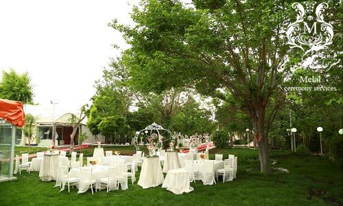باغ عروسی خاص و شیک