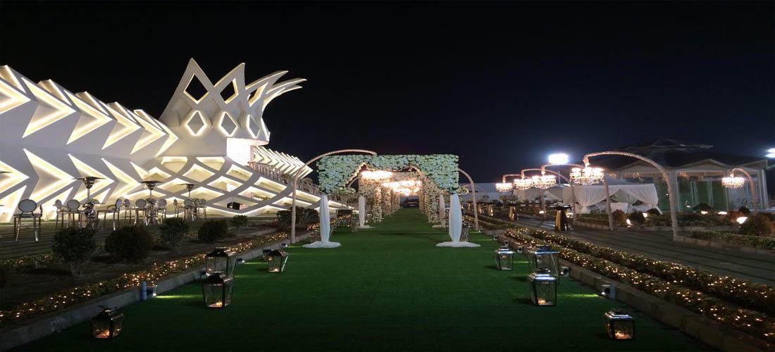 باغ عروسی تاج