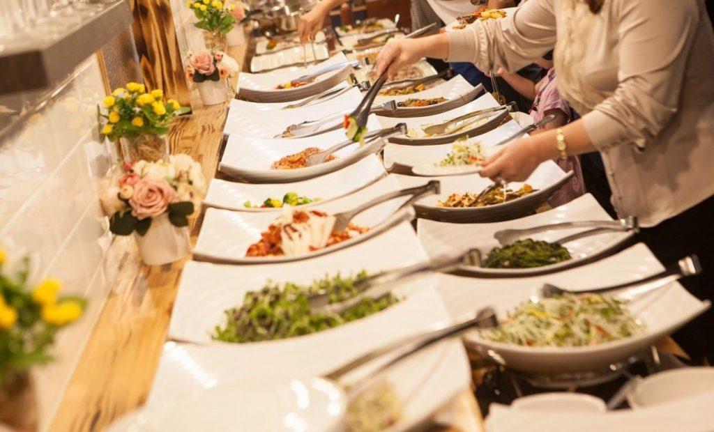 میز غذای عروسی