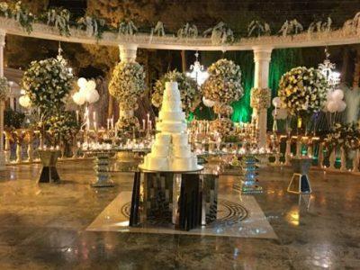 خدمات مجالس کیک عروسی
