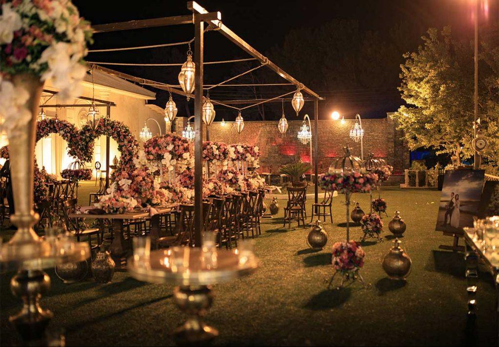 باغ تالار والا بهترین باغ تالار تهران